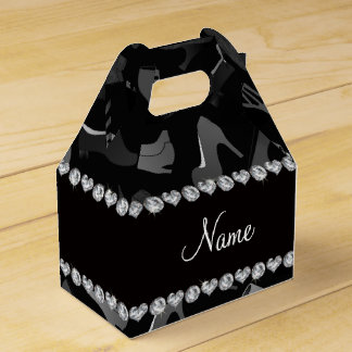 Modelo conocido de los zapatos de las mujeres cajas para regalos