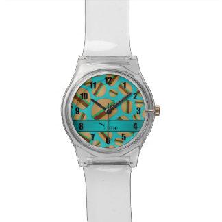 Modelo conocido personalizado de la hamburguesa de relojes