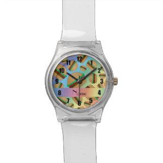 Modelo conocido personalizado de la hamburguesa reloj