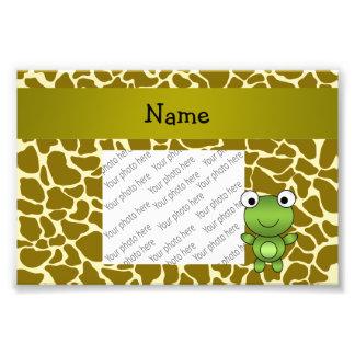 Modelo conocido personalizado de la jirafa de la cojinete