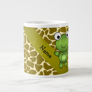 Modelo conocido personalizado de la jirafa de la taza grande