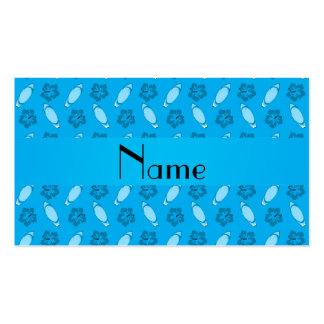 Modelo conocido personalizado de la tabla hawaiana tarjetas de visita