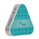 Modelo conocido personalizado de la tela escocesa altavoz bluetooth