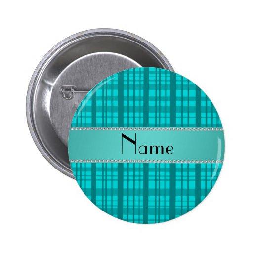Modelo conocido personalizado de la tela escocesa  pin