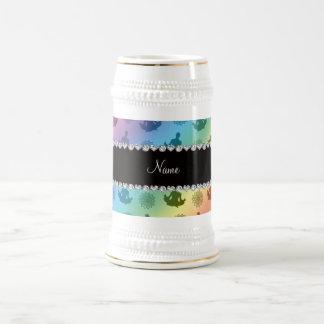 Modelo conocido personalizado de la yoga del arco jarra de cerveza