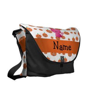 Modelo conocido personalizado de las calabazas del bolsa de mensajeria