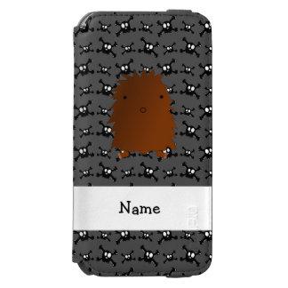 Modelo conocido personalizado de los cráneos de funda billetera para iPhone 6 watson