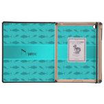 Modelo conocido personalizado del atún de bluefin  iPad cárcasa