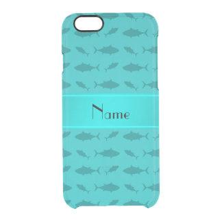 Modelo conocido personalizado del atún de bluefin funda clearly™ deflector para iPhone 6 de uncommon