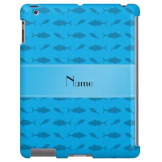 Modelo conocido personalizado del atún de bluefin funda para iPad