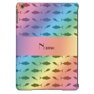 Modelo conocido personalizado del atún de bluefin funda para iPad air