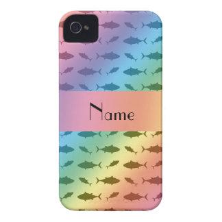 Modelo conocido personalizado del atún de bluefin iPhone 4 coberturas