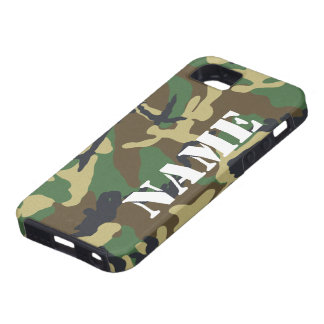 Modelo conocido personalizado del camuflaje iPhone 5 Case-Mate protector