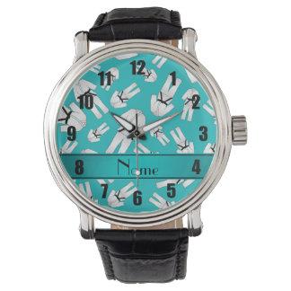 Modelo conocido personalizado del karate de la reloj de mano