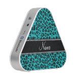 Modelo conocido personalizado del leopardo de la altavoz bluetooth