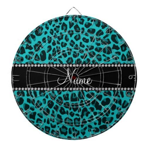 Modelo conocido personalizado del leopardo de la t