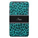 Modelo conocido personalizado del leopardo de la t iPod Case-Mate cárcasas