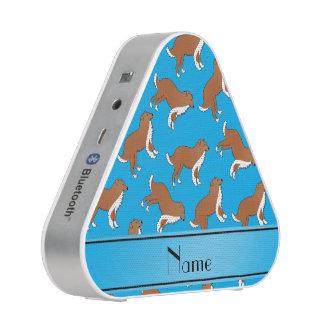 Modelo conocido personalizado del perro del collie altavoz bluetooth
