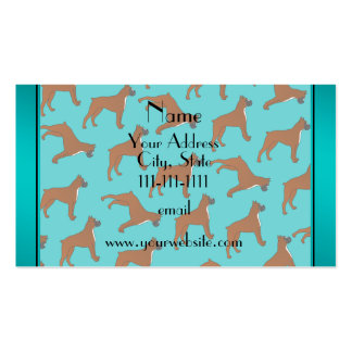 Modelo conocido personalizado del perro del tarjetas de visita