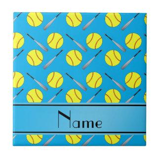 Modelo conocido personalizado del softball del azulejo cuadrado pequeño