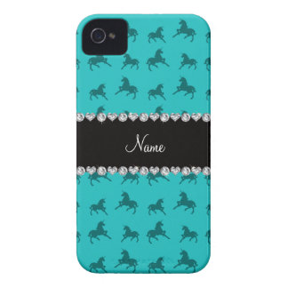 Modelo conocido personalizado del unicornio de la  Case-Mate iPhone 4 protector