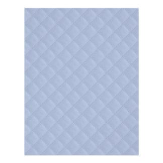 """Modelo cosido acolchado cuadrado azul de Alicia Folleto 8.5"""" X 11"""""""
