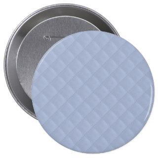 Modelo cosido acolchado cuadrado azul de Alicia Pin Redondo 10 Cm