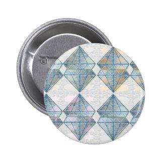 Modelo cristalino azul pins