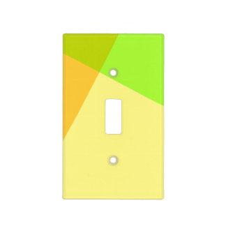 Modelo cuadrado cruzado (color del cambio) placas para interruptor