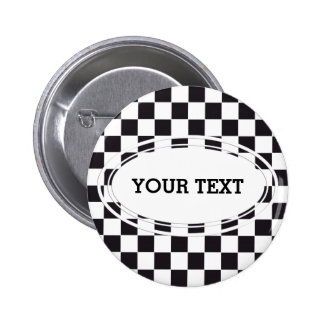 Modelo cuadrado del ajedrez - negro + su texto y b