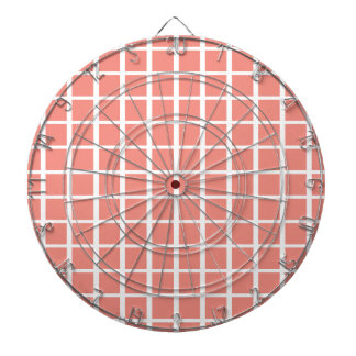 Modelo cuadrado rosado coralino geométrico