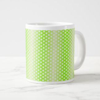 Modelo cuadrado verde claro taza grande