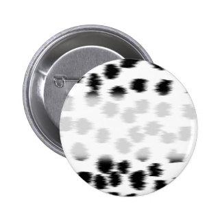 Modelo dálmata blanco y negro de la impresión pin redondo 5 cm