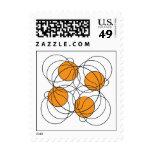 Modelo de 4 baloncestos franqueo