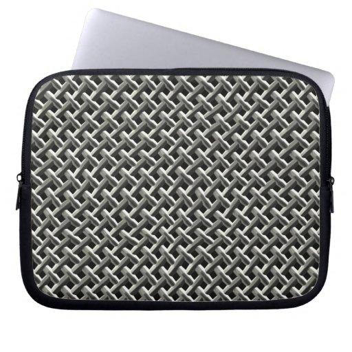 Modelo de acero de la malla metálica (falso) mangas portátiles