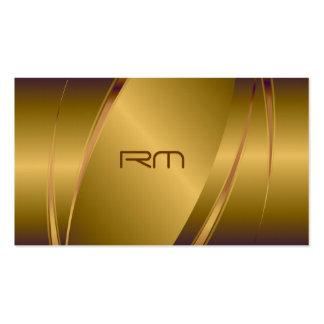 Modelo de acero Mirada-Inoxidable metálico del tin Tarjetas De Visita
