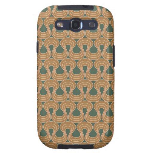 Modelo de Alfons Mucha del Arte-nouveau Galaxy S3 Protector