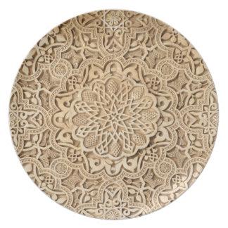 Modelo de Alhambra Plato De Comida