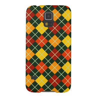 Modelo de Argyle del otoño Carcasas Para Galaxy S5