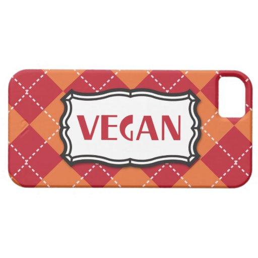 Modelo de Argyle del vegano iPhone 5 Case-Mate Funda