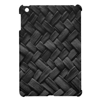 modelo de armadura de cesta negro iPad mini cárcasa
