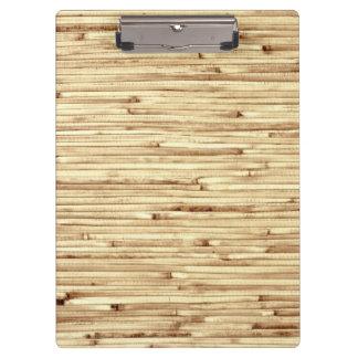 Modelo de bambú beige retro de la textura