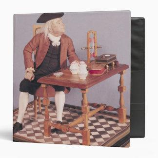 """Modelo de Benjamin Franklin en su tabla Carpeta 1 1/2"""""""