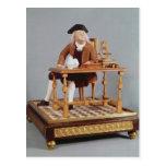 Modelo de Benjamin Franklin en su tabla Postal