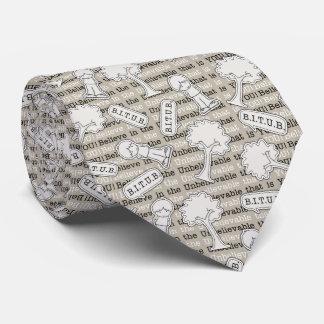 Modelo de BITUB (crea en el increíble) Corbata Personalizada