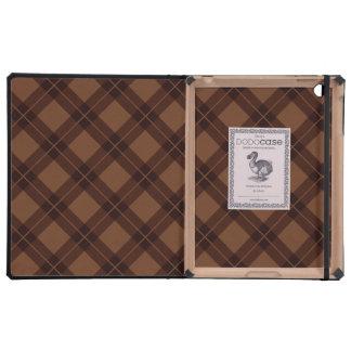 Modelo de Brown Argyle iPad Funda