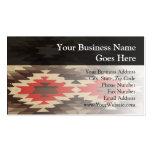 Modelo de Brown/de Navajo de la terracota Tarjeta Personal