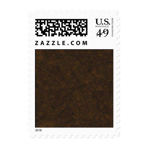 Modelo de Brown oscuro Timbre Postal