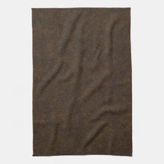 Modelo de Brown oscuro Toallas De Cocina