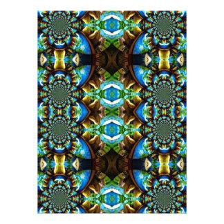 Modelo de cadena abstracto de Brown del verde azul Anuncios Personalizados